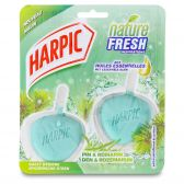 Harpic Hygienic stone nature fresh lavender