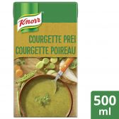 Knorr Line soup with courgette, leek and parsley