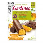 Gerlinea Dark chocolate bar with orange