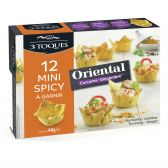 3 Toques Oriental spicy cups