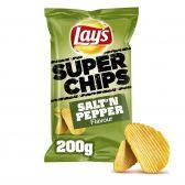 Lays Salt 'n pepper ribbled super crisps