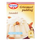Dr. Oetker Semolina pudding with almonds