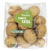 Albert Heijn Biologisch stoomaardappels (voor uw eigen risico)