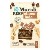 Albert Heijn Mueslireep met lichte chocolade