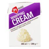 Albert Heijn Basic semi-skimmed whipped cream