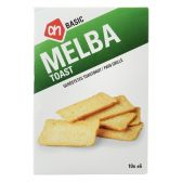 Albert Heijn Basic melba toasts