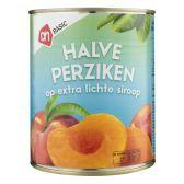 Albert Heijn Basic halve perziken op siroop