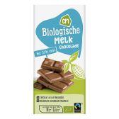 Albert Heijn Biologische melkchocolade reep