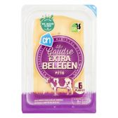 Albert Heijn Gouda extra matured 48+ cheese slices