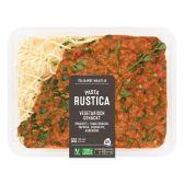 Albert Heijn Pasta rustica vegetarische slager (voor uw eigen risico)