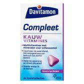 Davitamon Complete blueberry chewing vitamines