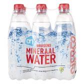 Albert Heijn Mineraalwater koolzuurhoudend 6-pack