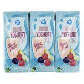 Albert Heijn Yoghurt drink red fruit 6-pack