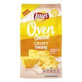 Lays Oven crispy thin emmentaler cheese crisps