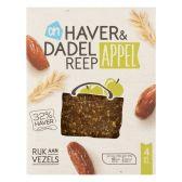 Albert Heijn Haver en dadelreep met appel