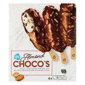 Albert Heijn Chocolade almond ijs (alleen beschikbaar binnen Europa)