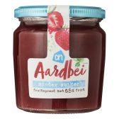Albert Heijn Strawberry fruit spread less sugar