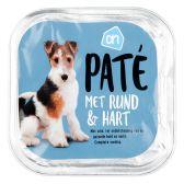 Albert Heijn Pate rund-hart voor de hond (alleen beschikbaar binnen Europa)