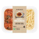 Albert Heijn Spaghetti Bolognese (voor uw eigen risico)