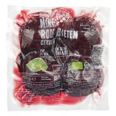 Albert Heijn Biologisch gekookte mini rode bieten (voor uw eigen risico)