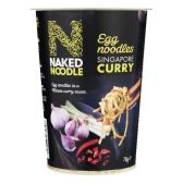 Naked Singapore curry noodles