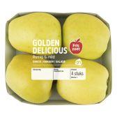 Albert Heijn Golden Delicious schaal (voor uw eigen risico)