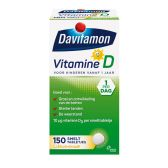 Davitamon Vitamine D melting tabs large (from 1 year)