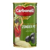 Carbonell Black olives without seeds