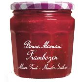 Bonne Maman More fruit less sugar raspberry marmelade