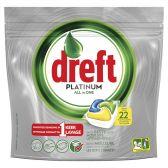 Dreft Platinum vaatwastabletten citroen klein