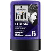 Taft Titane power hair gel