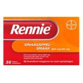 Rennie Orange chewing tabs