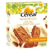 Cereal Speculaas with almond pieces
