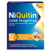 Niquitin Clear plasters 14 mg against smoking