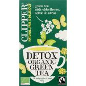 Clipper Organic elderblossom and rose twist tea