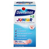 Davitamon Junior strawberry melting tabs small (from 1 to 3 years)