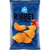 Albert Heijn Ribbelchips paprika