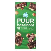Albert Heijn Dark chocolate tablet with nuts