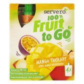 Servero 100% Fruit to go mango therapie