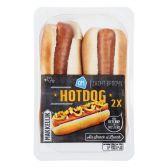 Albert Heijn Broodje hotdog (voor uw eigen risico)