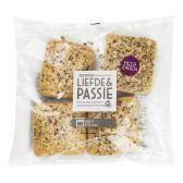 Albert Heijn Liefde & passie meerzaden broodjes (voor uw eigen risico)