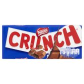 Nestle Crunch milk chocolate bar