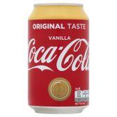 Coca Cola Vanille blik groot