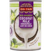Go-Tan Organic coconut milk