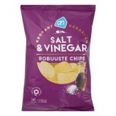 Albert Heijn Robuuste zeezout en azijn chips