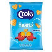 Croky Hearts paprika crisps