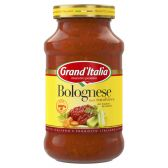 Grand'Italia Bolognese pasta sauce with beef large