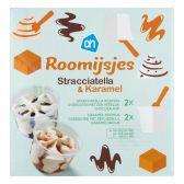 Albert Heijn Roomijs stracciatella karamel (alleen beschikbaar binnen Europa)