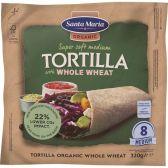 Santa Maria Organic wholegrain tortilla wraps