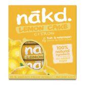 Nakd Lemon cake fruit bar with nuts
